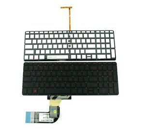 New US Keyboard Red Backlit for HP Pavilion Beats 15-p000 15-p008au 15-p030nr