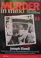 Murder in Mind Issue 61 - Joseph Elwell