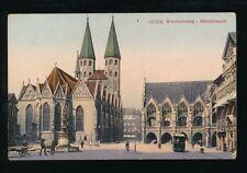 Germany BRAUNSCHWEIG Altstadmarkt c1900s PPC