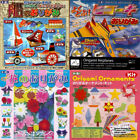Japanese Origami Paper Kit Boat Airplanes Christmas Flower Folding Set 6x6 inch