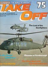 TAKE OFF 75 LTV F-8 CRUSADER VIETNAM USN CV-11 CV-41_PRE-WAR BRITISH LIGHTPLANES