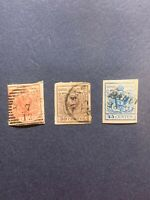 1854-57 AUSTRIA LOMBARDY VENETIA Stamps Postage Collection