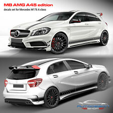 Mercedes W176 A Class AMG A45 Edition 1 Style Stripes Graphics