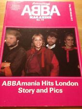 ABBA INTERNATIONAL magazine no15 Excellent condition (name on cover) rare
