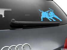 Bull Raton Car Sticker Styling Window Decal, Light Blue