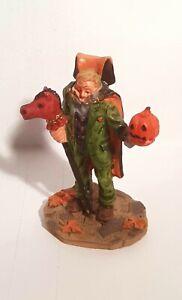 RETIRED. Lemax Spooky Town. Figurines. The Headless Horseman. SKU# 02382 c.2000