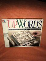UpWords Board Game, MB Games, Vintage 1988, 3D Family Word Game, Complete, VGC