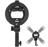 New Handheld Grip S-Type Bracket Bowens Mount Holder For Speedlite Flash Softbox