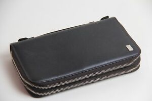 Dunhill Leather Document Case Bag Wallet 002701