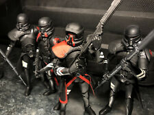 star wars black series 6 inch purge trooper Lot & Custom Heavy Purgetrooper