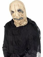 Leatherface Sklave to Scarecrow Zip Mask Halloween