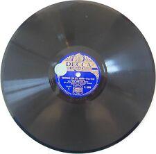 "ROY FOX & HIS BAND ""Georgia On My Mind / Don't Tell A Soul"" DECCA F-2804 -N°128"