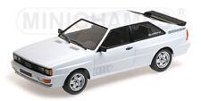 1980 Audi Quattro Coupé Deportivo blanco 1 18 Minichamps