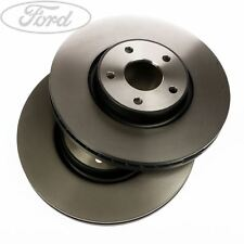 Genuine Ford Mondeo S-Max Galaxy Front Vented Brake Discs 300mm PAIR x2 1500159