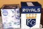 Handmade Needlepoint Plastic Canvas Tissue Box Cover Kansas City Royals MLB