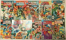 ALL-STAR SQUADRON#4-13 VF LOT (10 BOOKS) 1981 DC BRONZE AGE COMICS