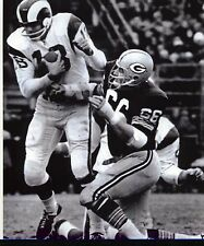 RAY NITSCHKE PACKERS-ROMAN GABRIEL RAMS  8X10 PHOTO
