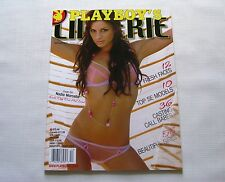 Nadia Marcella Playboy's Lingerie Magazine December/January 2010 New