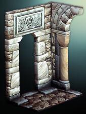 Pegaso Models Medieval Castle Corner Section ATL026