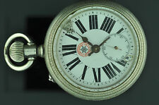 VINTAGE 58.6MM SWISS CORTEBERT SUPERIEURE, FOR REPAIR W/ NICE CHOO CHOO CASE
