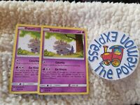 Pokemon TCG 2x Espurr #79/214 Unbroken Bonds Near Mint Psychic English New