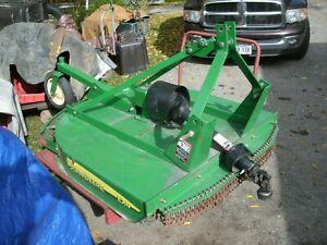 John Deere 4 ft. brush mower 3 pt attachment