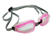 Aqua Sphere K180+ Goggles - Pink -Clear Lens - Old Stock, Blemished Packaging