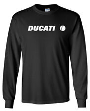 DUCATI Long Sleeve T-SHIRT - 1299 899 Panigale Racing Motorcycle Biker