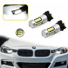 Error free CANbus White PW24W LED Bulbs For BMW F30 3 Series Day Running Light