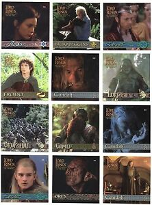 2002 Lord of the Rings LOTR Action Flipz Artbox Sticker You Pick Finish Your Set