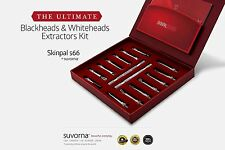 Suvorna Pro Blackhead Whitehead Acne Pimple Remover Deluxe Tool Kit SC-1205-SSP
