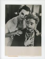 Limelight, Claire Bloom, Charlie Chaplin Vintage silver Print ,Les Feux de la