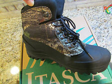 NEW ITASCA ICE BREAKER CAMO WINTER BOOTS THINSULATE MENS 10 WINTER ANKLE BOOTS