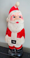 "Vintage 1970's Christmas Santa Claus Rubber 8"" Squeeky Toy"