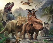 Walking with Dinosaurs Edible Party Cake Image Topper Frosting Icing Sheet