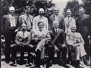 1939 Baseball Hall of Fame Induction Signed Autograph 8x10 First HOF *REPRINT*