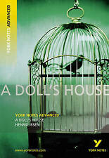 A Doll's House: York Notes Advanced by Ibsen, Henrik Paperback Book The Cheap