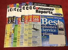 CONSUMER REPORTS MAGAZINE 2004 FEB-DEC (MAGAZINES/1015107) SET LOT OF 10