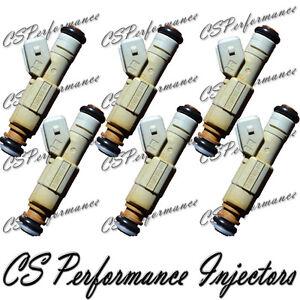 Bosch Fuel Injectors (6) Set For 97-03 Pontiac Grand Prix 3.8L V6 Supercharged