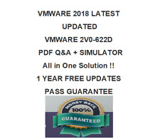 VMware VCP6.5-DCV 2V0-622D Q&A  Test PDF & Sim (2018 VERIFIED)1 YEAR FREE UPDATE