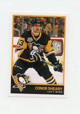 17/18 PANINI NHL STICKER #191 CONOR SHEARY PENGUINS *40539