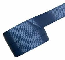 "5 yards Light navy blue 7/8"" grosgrain ribbon by the yard DIY hair bows"