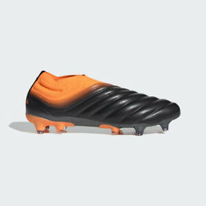 Adidas Copa 20+ Fg Mens Firm Ground Soccer Cleats Core Black/Orange EH0876