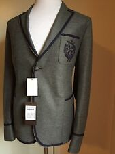 New $2095 Gucci Coat Jacket, Blazer Gray 44 US ( 54 Eu) Italy