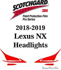 3M Scotchgard Paint Protection Film Pro Series Clear 2018 2019 Lexus NX