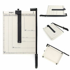 Professional A4 Paper Cutter Trimmer Guillotine Machine Safety Guard Home Office