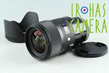 Sigma Art 35mm F/1.4 DG HSM  Lens for Sony E #35246 F6