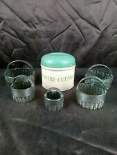 More details for vintage tala pastry cutters set of 5 retro 1950's kitchenalia