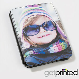 Personalised Kobo Touch / Glo HD Leather Case Cover Custom Photo Create Your Own