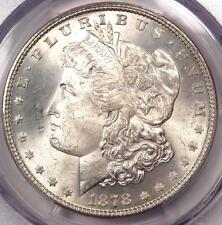 1878 7/8 TF Morgan Silver Dollar $1 - PCGS MS65+ PQ Plus Grade - $1,500 Value!
